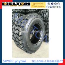 neumático de la resbalón de la fábrica del neumático 15-19.5 con alto contenido de goma