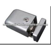 Deper adjustable anti-swing hinge for glass door