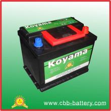 Bateria Auto da bateria de DIN55 12V55ah da qualidade de Coreia para começar