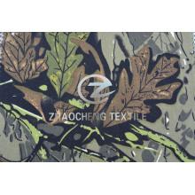 100% algodão 2/1 camuflagem tecido de árvores para colete (ZCBP256)