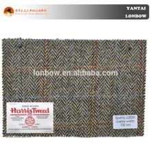 100% wool winter woven woolen coat fabric in wholesale