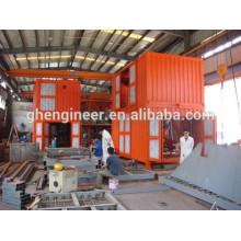 Maquinaria de pesaje y ensacado de contenedores