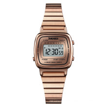New Hot SKMEI 1252 lady Digital Wristwatch Multi Function Casual Simple Watches For Ladies