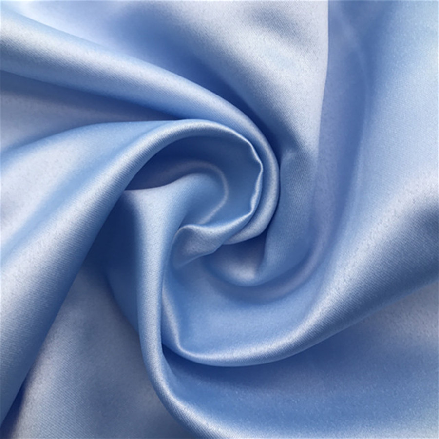 Polyester Duchess Satin Pure Silk Fabric
