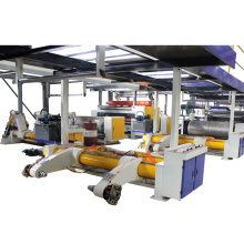 Bottom price 2200mm E flute paper corrugation machine used corrugated cardboard production line