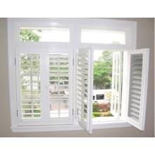 Nouvelle fenêtre de découpage extérieur de conception, caractéristiques de la persienne (WX-W201)