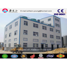 Многоэтажные промышленные строительные материалы / Сборные цеха из стальных конструкций (JW-16292)