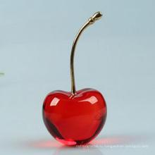 Творческий Cherry Кристалл стекла флакон духов подарок для Derocation автомобиля