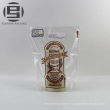 Напечатанное bopp пластичный плоский мешок для хлеба торт