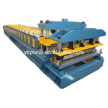 Máquina de fabricação de telhas de telhado colorida com o melhor vendedor