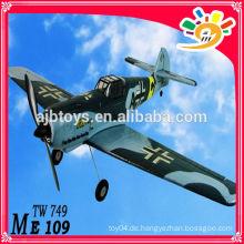 ME109 EPO TW 749 RC Flugzeug 2.4G 4CH Lanyu RC Modell Porzellan Modell Produktionen rc Flugzeuge rc Modell Flugzeuge zum Verkauf