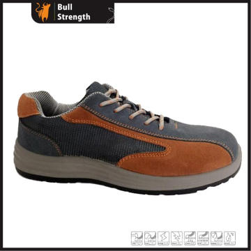 Low Cut Industrial Safety Shoe with Suede Leather (SN5423)