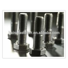 ASTM A325 Pernos hexagonales pesados con acabado liso
