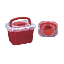 Uso médico caja de eliminación de objetos punzantes