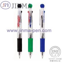 La Promotion cadeaux en plastique multicolore Ball Pen Jm-M013