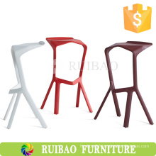 Wholesale Deluxe Stackable Leisure Bright Colored Miura Bar Stool