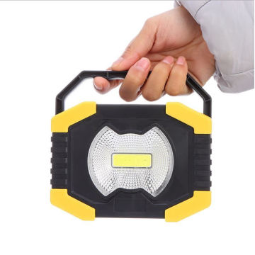 COB Work Light Battery Portable Waterproof LED Flood Lights for Outdoor Camping Hiking Emergency Car Repairing and Job Site Lighting