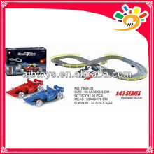 toy race track by hand 362cm long track toy car with hand generator
