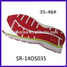 SR-140S034 (9023) Nueva suela suave ocasional del phylon del eva del tamaño de los hombres