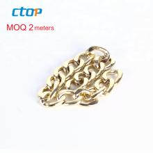 wholesale custom price long purse link decorative fashion gold metal purse chain wholesale steel chain custom bag chain
