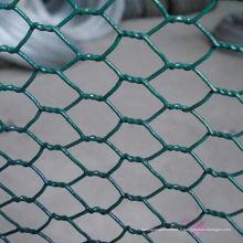 Filet de poulet hexagonal de haute qualité vert PVC