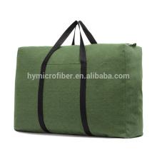 Сильный подшипник нагрузки большой толстый холст молния сумка