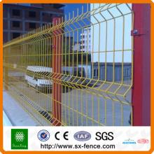 Pvc garden steel fold wire fence