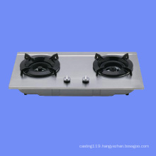 1~5 burners cast iron gas hob with enamel