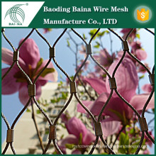 China factory supply stainless steel wire fence for garden