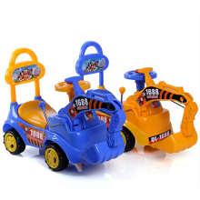Escavadora colorida de quatro rodas da criança com boa qualidade