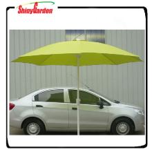 Parapluie de jardin en aluminium de 3m 8 côtes avec la manivelle