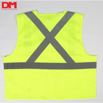 ANSI107 Class 2 Mesh Reflective Safety Vest  Work Clothes