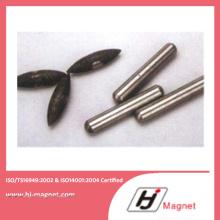 Aimant AlNiCo forte personnalisés de haute qualité basé sur ISO 14001 de procédé de fabrication