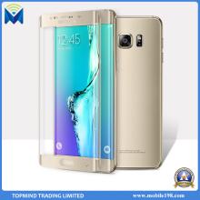 Protector de la pantalla de la película de cristal templada de la cubierta llena 3D para el borde de Samsung Galaxy S7 S7