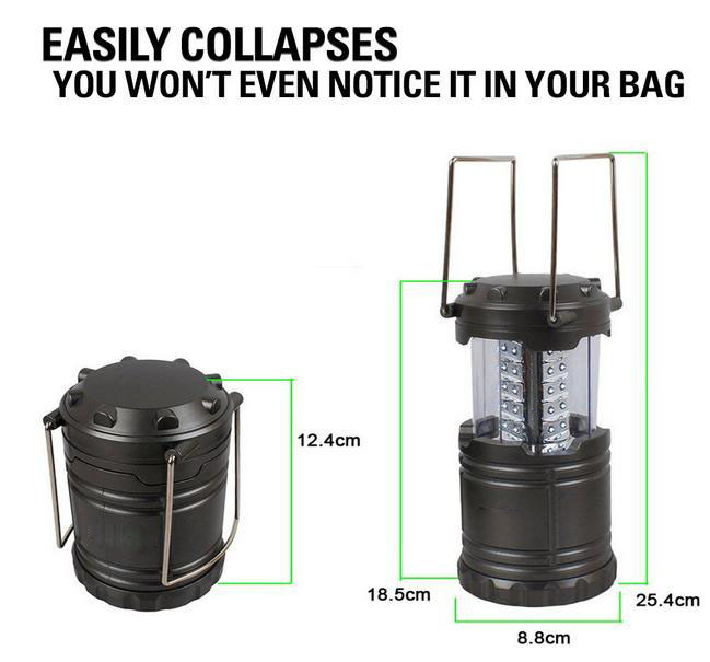outdoor led camping lantern