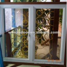 Profilé de fenêtre en aluminium trempé verre 5mm