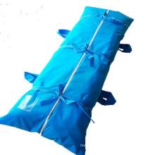 Disposable PVC Dead Funeral Cadaver Cross PEVA Mortuary Body Bag