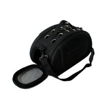Small, breathable, foldable portable messenger pet bag