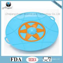 Tampa do tampão do silicone do bujão do derramamento do silicone FDA LFGB Aprovado SL15