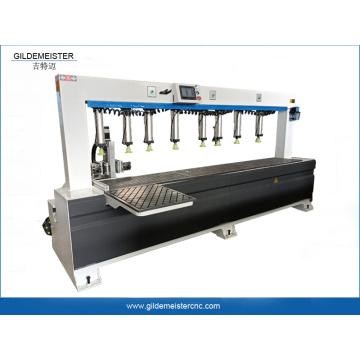 Machine de fabrication d'armoires à charnières