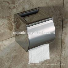 CX-505 meilleur rabais mural salle de bain en acier inoxydable boîte à mouchoirs en papier