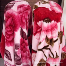 100% Polyester Supesoft Mink Blanket