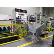Прецизионная машина для продольной резки металлических ограждений