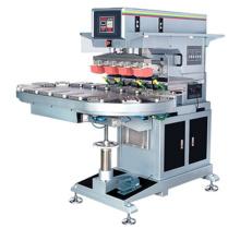 Large Conveyor Pad Printing Machine 4 Color