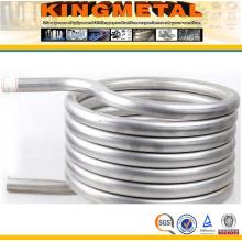 ASTM B338 Gr. 2 tubo de aço da bobina do permutador de calor do titânio