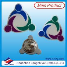 Metal Solid Color Printing Logo Anstecknadel mit Epoxy (LZY-10000208)