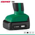 Qimo mini herramientas de perforación batería de litio de reemplazo para motor de taladro inalámbrico 1011B 10.8v / 12v 10mm Dos velocidades