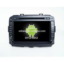 Kaier usine -Qualcore dvd lecteur de voiture pour Carens + OEM + dual core + android 4.4 + lecteur dvd de voiture pour Carens