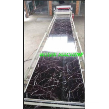 cadena de fabricación de /extrusion de producción de hoja/tablero de mármol imitación plástico de PVC