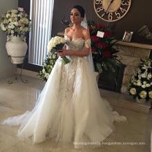 Middle East Beaded Luxury Turkey Designer Wedding Dress